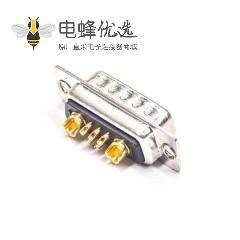 D-sub 7W2公头焊线