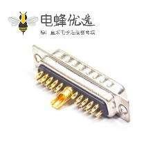 D-sub 21W1公头焊线