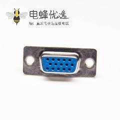 D-sub HDB母头焊线式三排15PIN