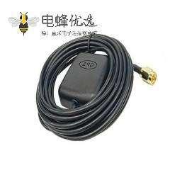 GPS 4G LTE天线带磁性吸盘短的圆形防护罩频率1575.42MHz