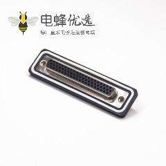 D sub防水连接器 62针母头焊线
