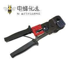 多功能剥线工具用于6P或者8P水晶头压接同时具有剥线的功能