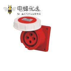 4芯明装插座 16A 380V-415V IP67