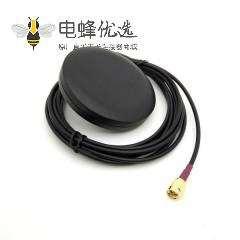 高增益圆形GSM 天线 2dBi 3米线长接SMA 公头