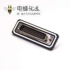 防水D-sub 44针公头直插板