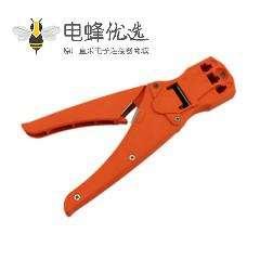 水晶头压接工具三用压线钳可用于4P,6P,8P水晶头压接同时具有剥线的功能