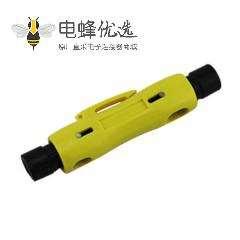 简易剥线器简易式可旋转同轴电缆剥线器剥线范围RG59/RG6/RG11/RG7