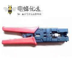 BNC挤压钳三用挤压钳用语BNC头同时具有剥线的功能