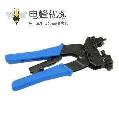 同轴电缆挤压钳F头RG6挤压器适用于同轴电缆F链接头
