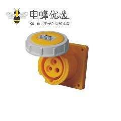 16A 3芯工业插座 110V-130V IP67