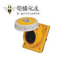 工业暗装斜座16A 3芯 110V-130V