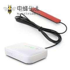 3dbi GSM粘贴式板状天线824-960Mhz 1710-1990Mhz接SMA 公头RG174