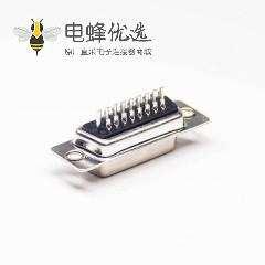 D-sub HDB 26母针三排26针焊线式母头