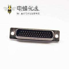 D-sub HDB 三排44针公头焊线式
