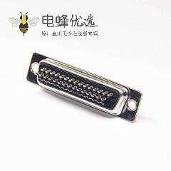 D-sub HDB 三排44针母头焊线式