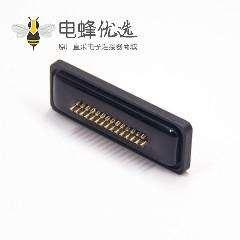防水D-sub 44针母头焊线