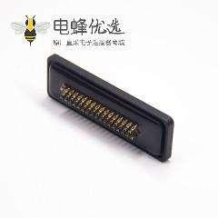 防水D-sub 50针公头焊线