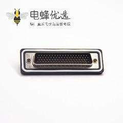 防水D-sub 78针公头焊线