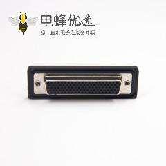 IP67防水DB接头 104针母头弯头插板带挡板