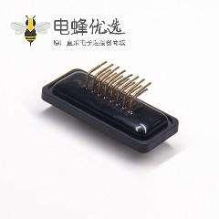 DB深蓝防水 15针母头弯头插板