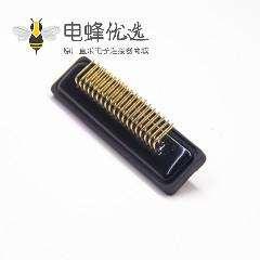 dsub接口37针母头弯头插板