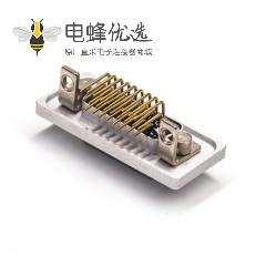 26 Pin D-sub 铝合金外壳防水公头弯插板