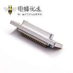 D-sub 44Pin铝合金外壳防水  公头焊线