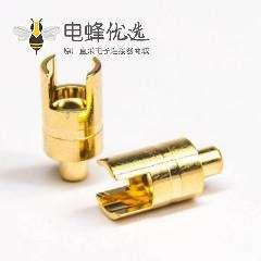 大电流端子镀金焊线式香蕉头端子