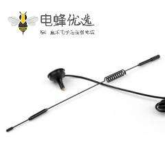 4G LTE 天线接TS9公头7dBi带吸盘底座无线信号增强3米线长