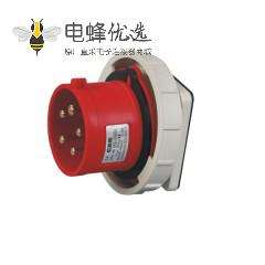 工业插座 IEC60309 16A 5芯 IP67防水 380V-415V
