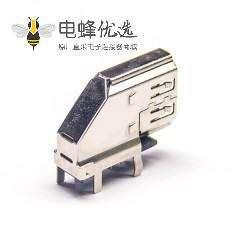 90度HDMI母座弯头90度接pcb