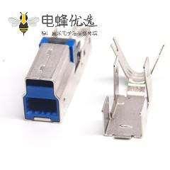 USB3.0B带铁壳短体9p打印设备接头