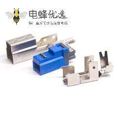 USB 3.0 B公焊线三件套1U''自动焊预加锡