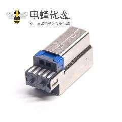 USB 3.0B公短体1U'' 带铜壳
