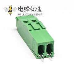 螺钉式PCB接线端子2芯带螺钉直式插孔PCB板安装