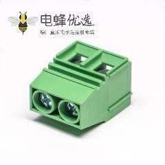 接线端子绿色直式良芯穿孔式PCB板端安装
