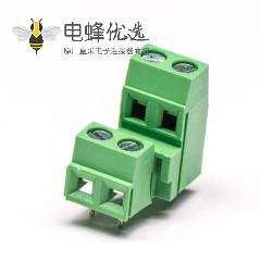 螺钉式接线端子2层4芯直式压接接线连接器