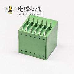 插拔式端子双排12芯方形直插式PCB板绿色端子连接器