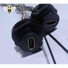 HDMI AF 防前锁M25-1.5 插座连线