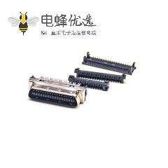 SCSI公头连接器36针HPCN直式刺破式插头