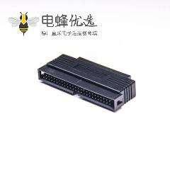 SCSI 连接器VHDCI型公头50芯转HPDB50芯公头直式连接器转接头