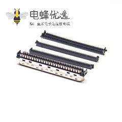 SCSI68芯连接器HPCN型直式公头刺破式接头接线