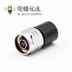 N头负载公头直式连接器螺纹连接