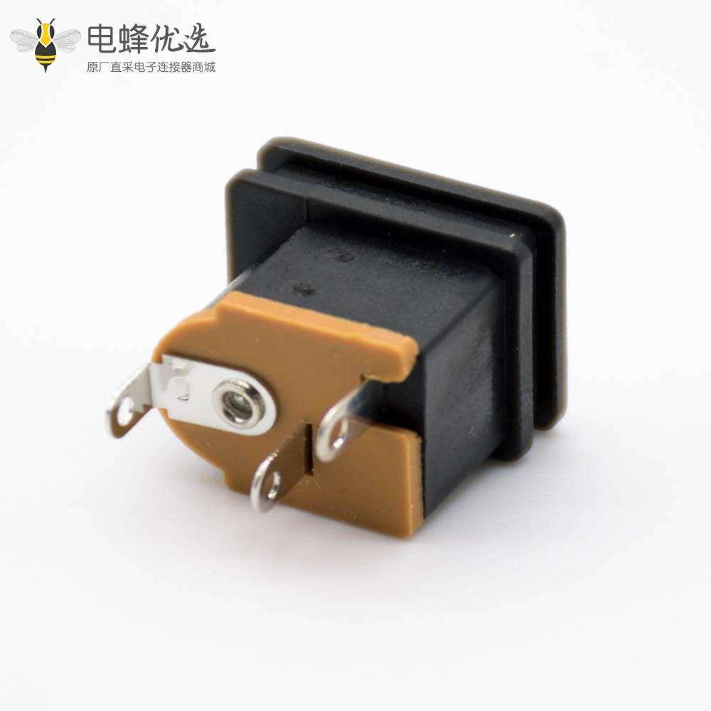 电源连接器直式3.9*1.03mm公头不带屏蔽贴片焊接插孔DC插座