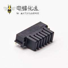 6芯插座2.0MM间距沉板式电插座