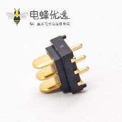 电池3p插头2.0MM间距刀片式公座