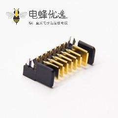 7P电池连接器2.0MM间距沉板式电插座