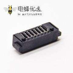 电池座连接器7芯2.0MM间距母座