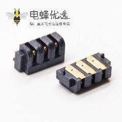 2.0贴片插座3芯母头电插座