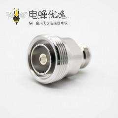 N母头转DIN7/16母头RF转接头直式镀镍同轴连接器